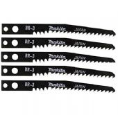 Makita BR3 Jigsaw Blades for Wood - 5 Pack (A-85933)